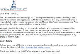 Service Desk Courses Security Awareness Training
