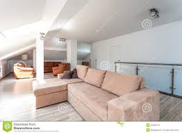 bright space living room upstairs stock photos image 32384413