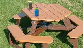 wooden childrens picnic table your daycare s eating area with a children s picnic table