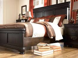 Ashley Shay Bedroom Set Black Poster Bed Frame With Under Bed - Ashley furniture bedroom sets prices
