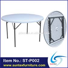 Round Plastic Patio Tables by Round Folding Tables Round Folding Tables Suppliers And