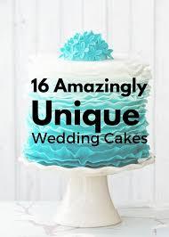 unique wedding cakes 16 amazingly unique wedding cakes canvas factory