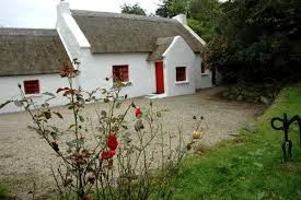 Thatched Cottage Ireland by Ireland Thatched Cottage Donegal