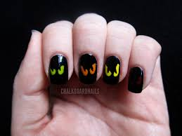 scary bats and full moon halloween nail art tutorial youtube