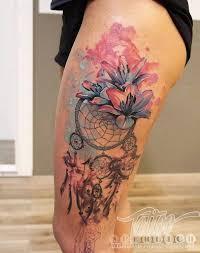 45 dreamcatcher tattoo design ideas for creative juice