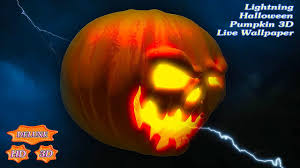 lightning halloween pumpkin 3d android apps on google play
