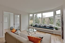 bay window designs living room modern with seat cushion seating