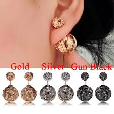 sided earrings online shop korean brand sided earrings for women fashion