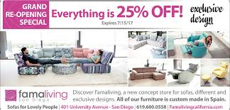 everything is 25 off famaliving san diego san diego ca
