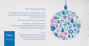 wishes from unica unica network of universities from