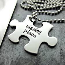 Personalized Dog Tags For Couples Shop Missing Puzzle Piece On Wanelo