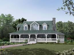 wrap around porch home plans single farmhouse plans with wrap around porch best country