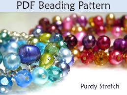 beading tutorial pattern bracelet work work stretch bracelet