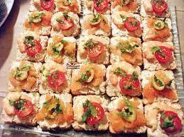 canapé saumon recette de toast saumon ou crevette