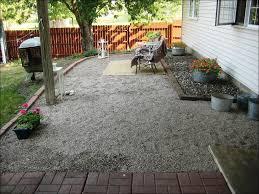 Patio Rock Ideas Exteriors Fabulous Pea Gravel Garden Ideas Gravel Patio Ideas