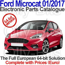 microcat ford 01 2017 electronic parts catalogue epc for 64 bit
