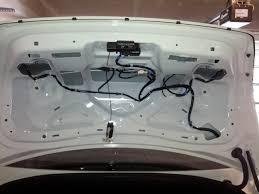 how to 2011 m37 m56 oem rear deck spoiler install diy nissan