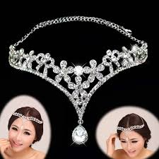 hair accessories for indian weddings aliexpress buy silver color indian hair accessories