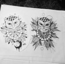 25 beautiful geometric owl tattoo ideas on pinterest geometric