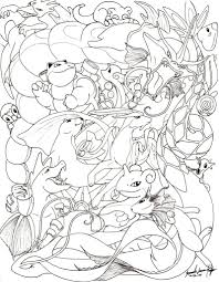 eevee pokemon coloring coloring pages evolutions
