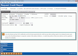 bureau pcr requesting a credit report 2