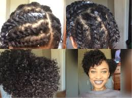 flat twist out on short natural twa youtube