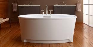 underscore oval freestanding baths kohler