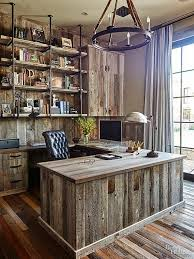 rustic home design ideas rustic home office furniture best 25 rustic office ideas on