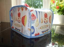 Dualit 4 Toaster Retro 50s Kitchen Baking Pvc Oilcloth 4 Slice Toaster Cover