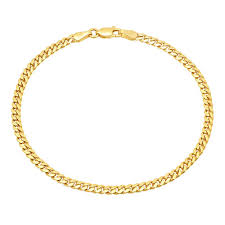 chain link bracelet gold images 4mm miami cuban link bracelet jacoje jpg