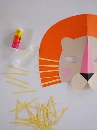 lion mask for kids mer mag diy paper lion mask for national geo kids