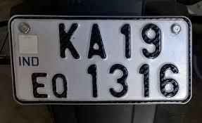 vehicle registration plates of india wikipedia