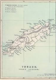 Trinidad And Tobago Map Caribbean Trinidad And Tobago
