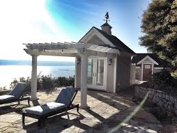 Pergola Off House by Pergolas And Pergola Kits With Round Tapered Columns