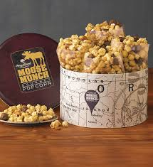 classic moose munch gourmet popcorn tin harry david