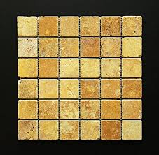 gold floor l amazon gold yellow 2 x 2 tumbled travertine mosaic tile marble tiles