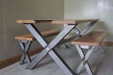 industrial glass dining table industrial glass tables ebay