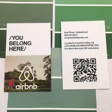 Should I Put A Qr Code On My Business Card Do You Have Airbnb Business Cards We Are Your Airbnb Hosts Forum