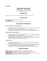 Objective For Legal Assistant Resume Legal Assistant Resume Template Virtren Com