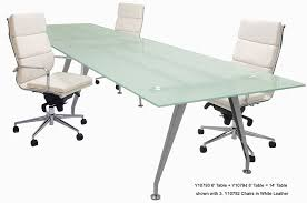 Frosted Glass Conference Table Frosted Glass Conference Table Bonners Furniture