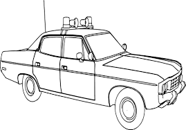 abc matador sheriff police car coloring page wecoloringpage