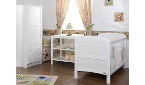 Asda Nursery Furniture Sets Obaby Grace 3 Nursery Furniture Set White Nursery