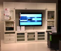 besta ikea cabinet white ikea besta entertainment center with recessed lighting and