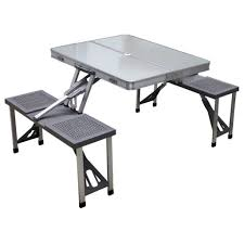 Plastic Folding Picnic Table Folding Bench And Picnic Table Combo Shelby