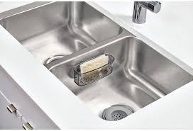 kitchen sink cabinet sponge holder cabinet drawer organization idesign blumz bpa free