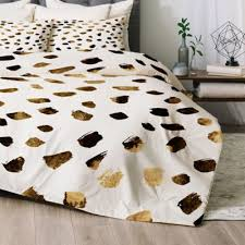 White And Gold Bedding Sets Buy Cheetah Bedding Set From Bed Bath U0026 Beyond