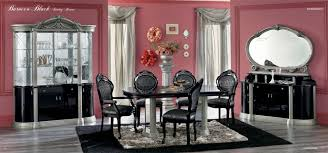 italian classic dining black design co