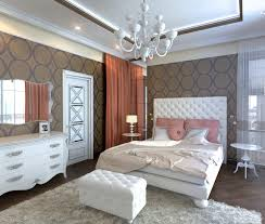 art deco bedroom 3d