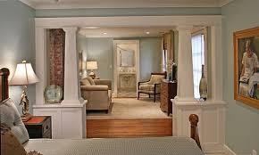 interior pillars arts crafts columns i elite trimworks