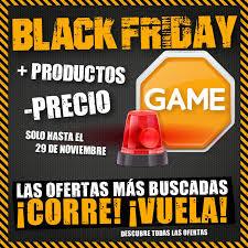 black friday game viernes negro 2015 game presenta sus ofertas para el black friday